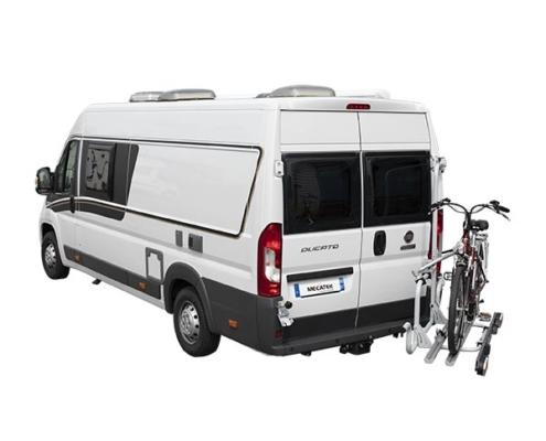 Transportez aisément 2 vélos électriques